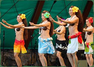 写真:フラ&タヒチアンダンス3