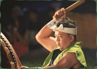 写真:和太鼓の競演1