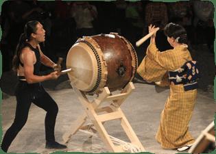 写真:和太鼓の競演2